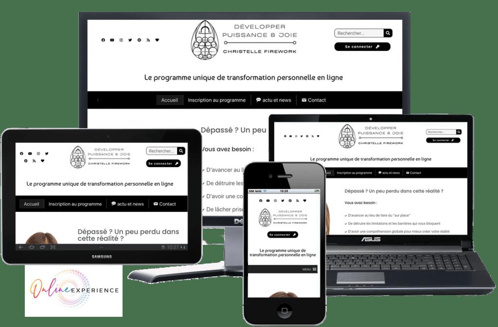 programme en ligne de transformation personnelle
