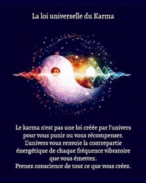 Le mot karma signifie action, pas destin